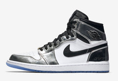 Nike Air Jordan Retro 1 High Pass the Torch Kawhi Leonard Chrome Black AQ7476-016