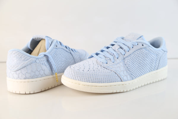 4816d6334c74 Nike Air Jordan Retro 1 Low NS Python Ice Blue Sail 872782-441 ...