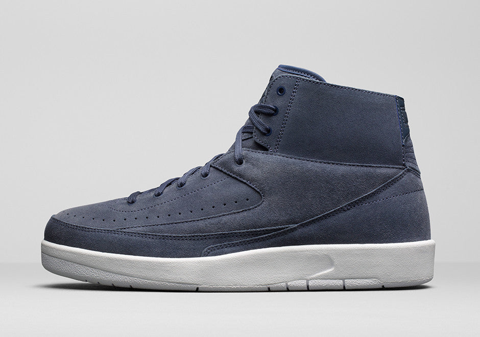 86db74d9fd0 Nike Air Jordan Retro 2 Decon Thunder Blue Suede 897521-402 | Zadehkicks