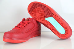 Nike Air Jordan Retro 2 Low Gym Red Hyper Turq 832819-606