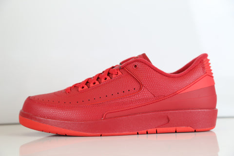 aa92036f913265 Nike Air Jordan Retro 2 Low Gym Red Hyper Turq 832819-606