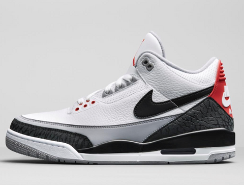 Nike Air Jordan Retro 3 Tinker NRG White Fire Red Cement Grey AQ3835-160 PRE ORDER (NO Codes)