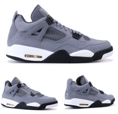 Nike Air Jordan Retro 4 Cool Grey Chrome Charcoal 2019 308497-007 Adult GS PRE ORDER