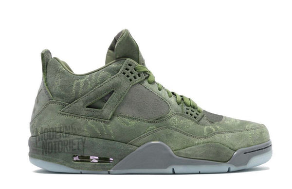 Nike Air Jordan Retro 4 KAWS NRG Green Black 2019 - BONUS