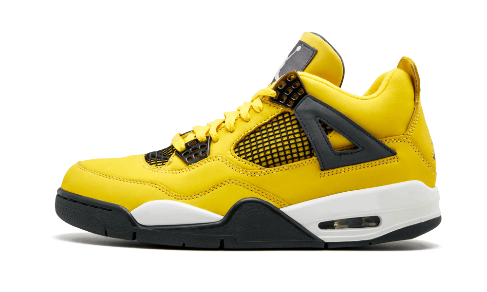 on sale 92bd4 906af Nike Air Jordan Retro 4 Lighting Tour Yellow Black 2019 PRE ORDER    Zadehkicks