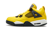Nike Air Jordan Retro 4 Lightning Tour Yellow Black Grey CT8527-700 - BONUS