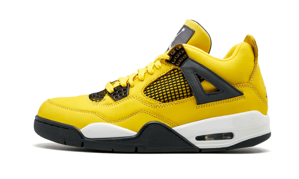 Nike Air Jordan Retro 4 Lighting Tour Yellow Black 2019 PRE ORDER