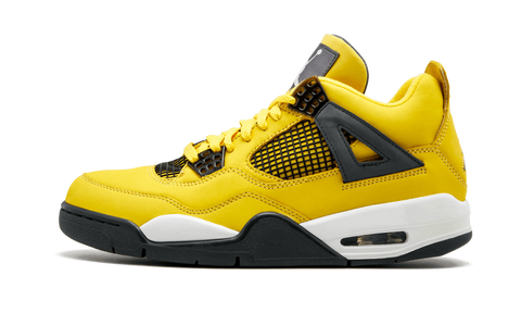 Nike Air Jordan Retro 4 Lighting Tour Yellow Black 2018 PRE ORDER