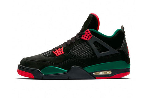 Nike Air Jordan Retro 4 NRG Gucci DTRT Black Gorge Green Red AQ3816-063 - PRE ORDER