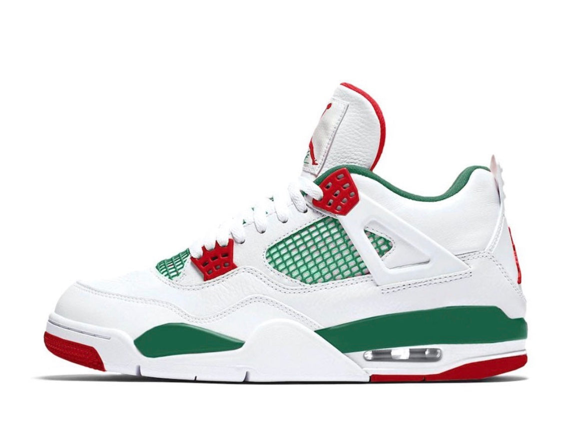 brand new 05a6c 51453 Nike Air Jordan Retro 4 NRG Gucci Do The Right Thing White Gorge Green    Zadehkicks