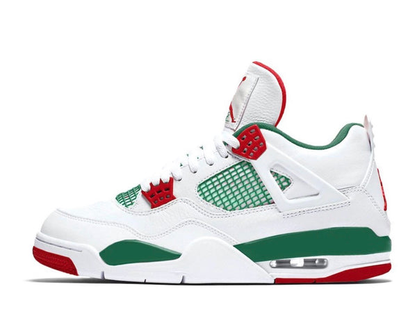 Nike Air Jordan Retro 4 NRG Gucci Do The Right Thing White Gorge Green Red AQ3816-163 PRE ORDER
