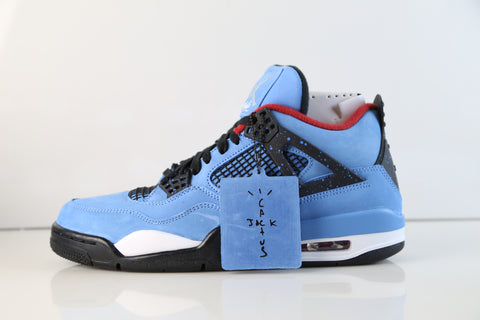 Nike Air Jordan Retro 4 NRG Cactus Jack Travis Scott University Blue Red 308497-406