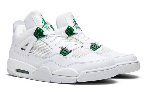 Nike Air Jordan Retro 4 White Classic Pine Green Metallic Silver CT8527-113 - PRE ORDER