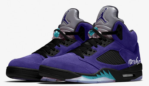 Nike Air Jordan Retro 5 Alternate Grape Ice Black Emerald 136027-500 - PRE ORDER