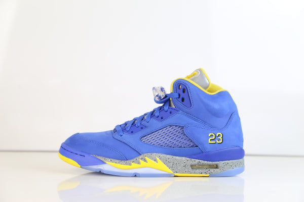 Nike Air Jordan Retro 5 Laney SP Royal Varsity Maize CD2720-400