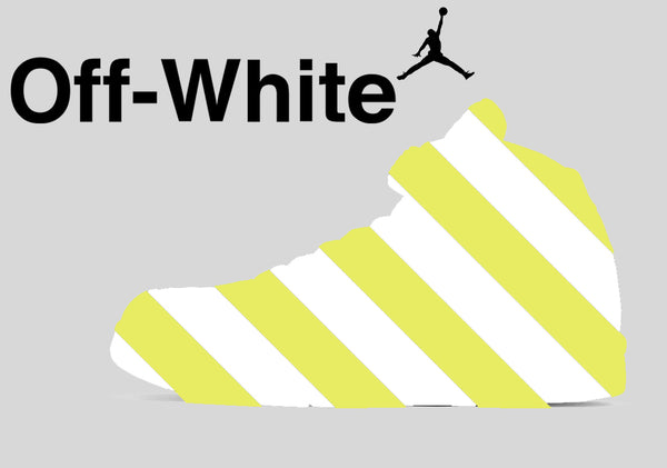 Nike Air Jordan Retro 5 Off-White Part 2 Yellow OW 2020 - BONUS