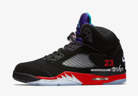 Nike Air Jordan Retro 5 Top 3 Black Fire Red Grape CZ1786-001 - PRE ORDER