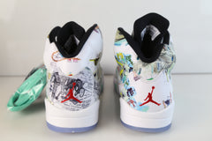 Nike Air Jordan Retro 5 WINGS White Multicolor AV2405-900