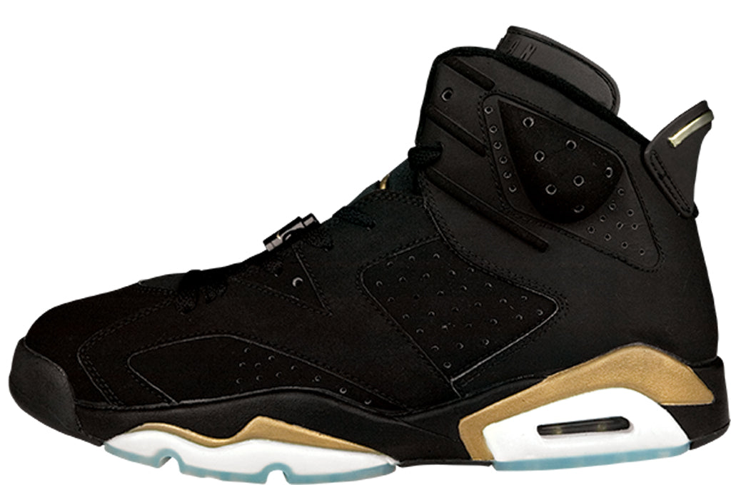 low priced 34a60 cc54c Nike Air Jordan Retro 6 DMP Black Metallic Gold 2020 CT4954 ...