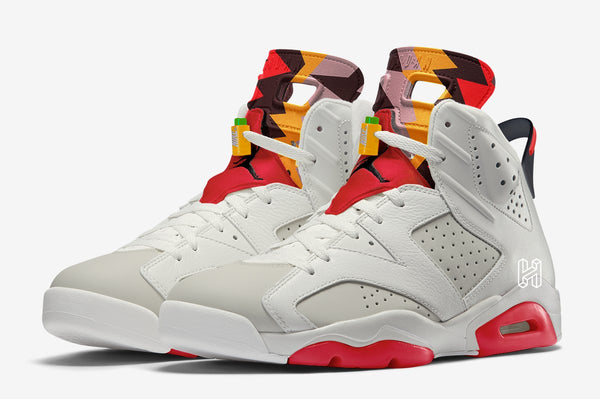 Nike Air Jordan Retro 6 Hare Neutral Grey White Red CT8529-062 - PRE ORDER