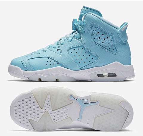 Nike Air Jordan Retro 6 Pantone Still Blue GG GS 2017 PRE ORDER (NO Codes)