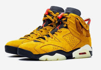 Nike Air Jordan Retro 6 TS SP Travis Scott Yellow Mustard - BONUS