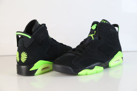 Nike Air Jordan Retro 6 UO Oregon Black Electrique Green CK2587-003 NEW size 11 (SOLD)