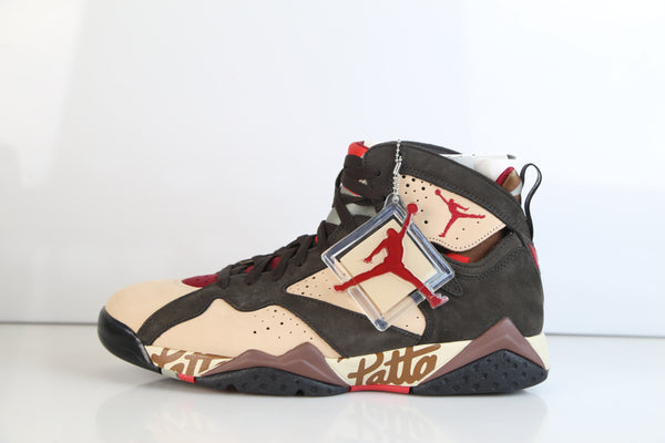 Nike Air Jordan Retro 7 Patta Shimmer Tough Red Velvet AT3375-200