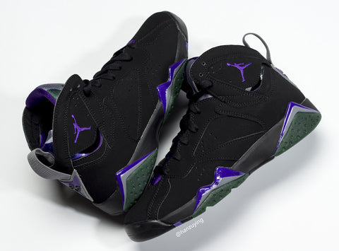 Nike Air Jordan Retro 7 Ray Allen Black Fierce Purple 304775-053 - PRE ORDER