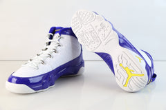 Nike Air Jordan Retro 9 Kobe White Tour Yellow Concord BG GS 302359-121