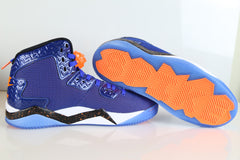 Nike Air Jordan Spike Forty PE Game Royal Total Orange Knicks 807541-405