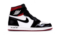Nike Air Jordan Womens Retro 1 High OG Black White Varsity Red 2019 - BONUS