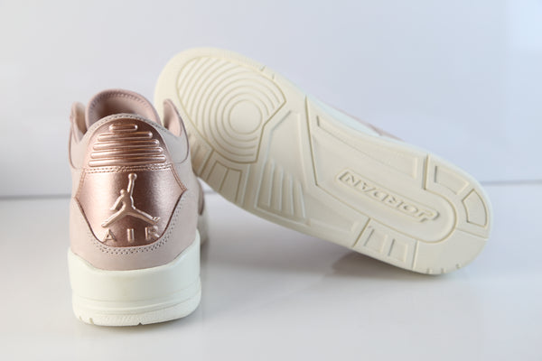 best website f4836 588c0 Nike Air Jordan Womens Retro 3 SE Particle Beige Metallic ...