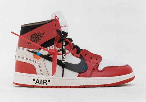 Nike X Off-White c/o Virgil Abloh Air Jordan Retro 1 Chicago AA3834-101 (NO Codes)
