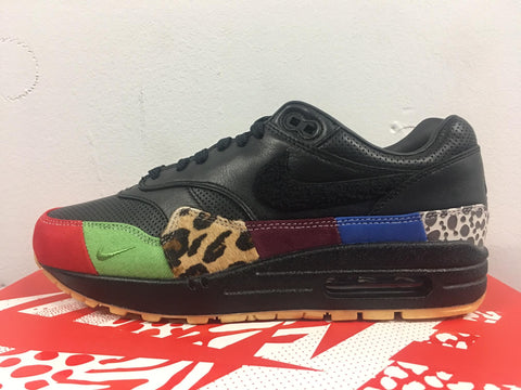 Nike Air Max 1 MASTER Black Multicolor 910772-001 (NO Codes)