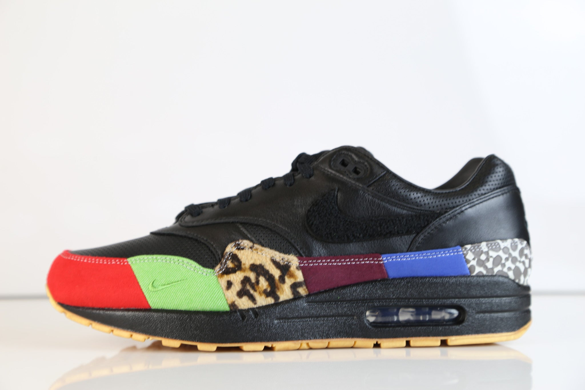 28eb8caa451 Nike Air Max 1 MASTER Black Multicolor 910772-001