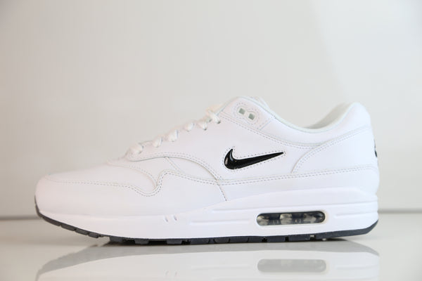 Nike Air Max 1 Premium SC Jewel White Black 918354-103 (NO Codes)