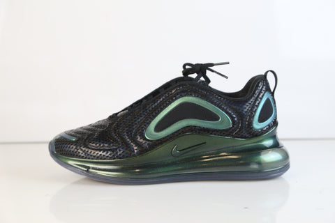 Nike Air Max 720 Throwback Future Iridescent Black Black Metallic Silver AO2924-003