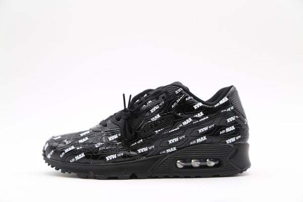 Nike Air Max 90 All Over Print Black White 700155-015