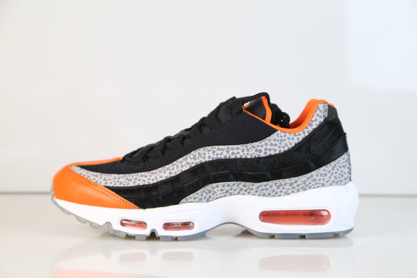 Nike Air Max 95 Safari Black Orange Graphite AV7014-002
