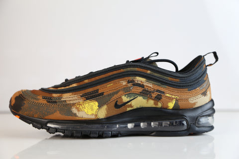 Nike Air Max 97 Premium QS Camo Italy Ale Brown Cargo AJ2614-202 (NO Codes)