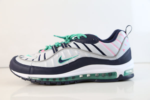 Nike Air Max 98 South Beach Pure Platinum Obsidian 640744-005