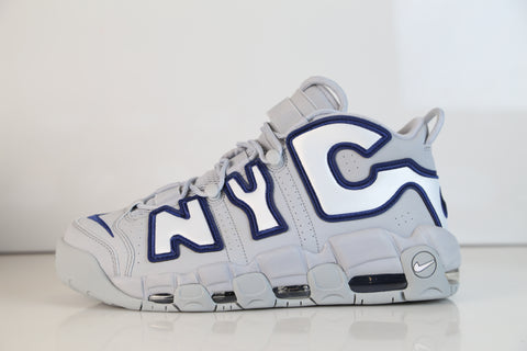 Nike Air More Uptempo NYC QS Wolf Grey Midnight navy AJ3137-001
