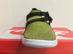 Nike Air SockRacer Flyknit Yellow Strike Black 898022-700