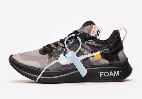 Nike Air Zoom Fly Off-White Virgil Abloh Black White AJ4588-001