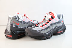 Nike Atmos Air Max 95 PRNT We Love Nike Black Bright Crimson AQ0925-002
