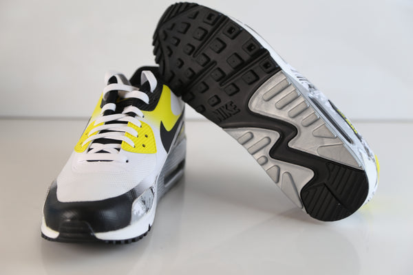 ... Nike Doernbecher Air Max 90 Premium DB Oregon Ducks White Dynamic Yellow AH6830-100 ...