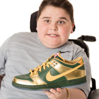 Nike Doernbecher DB Dunk Low Pro SB Joey Green Gold  BV8740-377