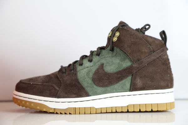 Nike Dunk CMFT WB Army Olive Brown Comfort Boot 805995-300
