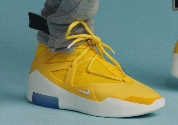 Nike X Fear of God Air 1 Yellow 2019 - NOFOOLS